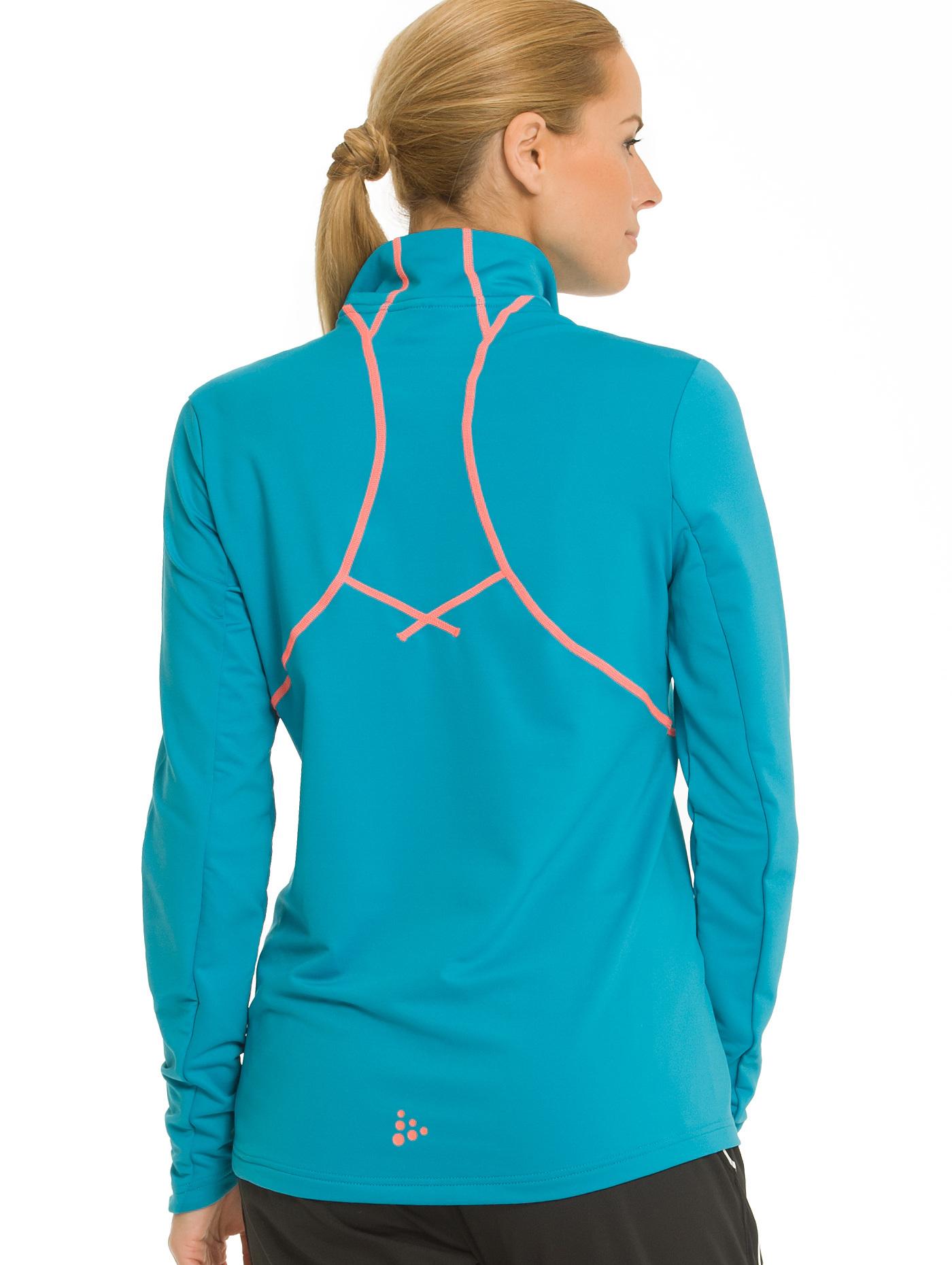 1902875-2318 Толстовка пуловер Craft Lightweight женская blue