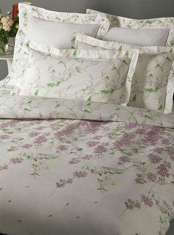 Постельное белье 1.5 спальное Mirabello Campanule розовое