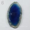 Подвеска Срез Агата, цвет - темно-синий (№6 (68х38 мм)(ЦАРАПИНА))