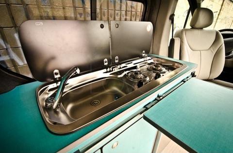 Варочная газовая панель с раковиной Dometic SMEV MO9222L