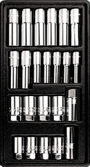 Набор инструмента в ложементе AmPro (23 предмета) T45208