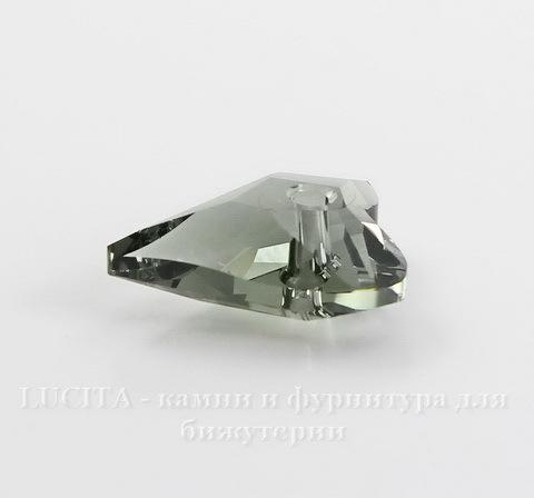 6240 Подвеска Сваровски Сердечко Wild Heart Black Diamond (12 мм) ()