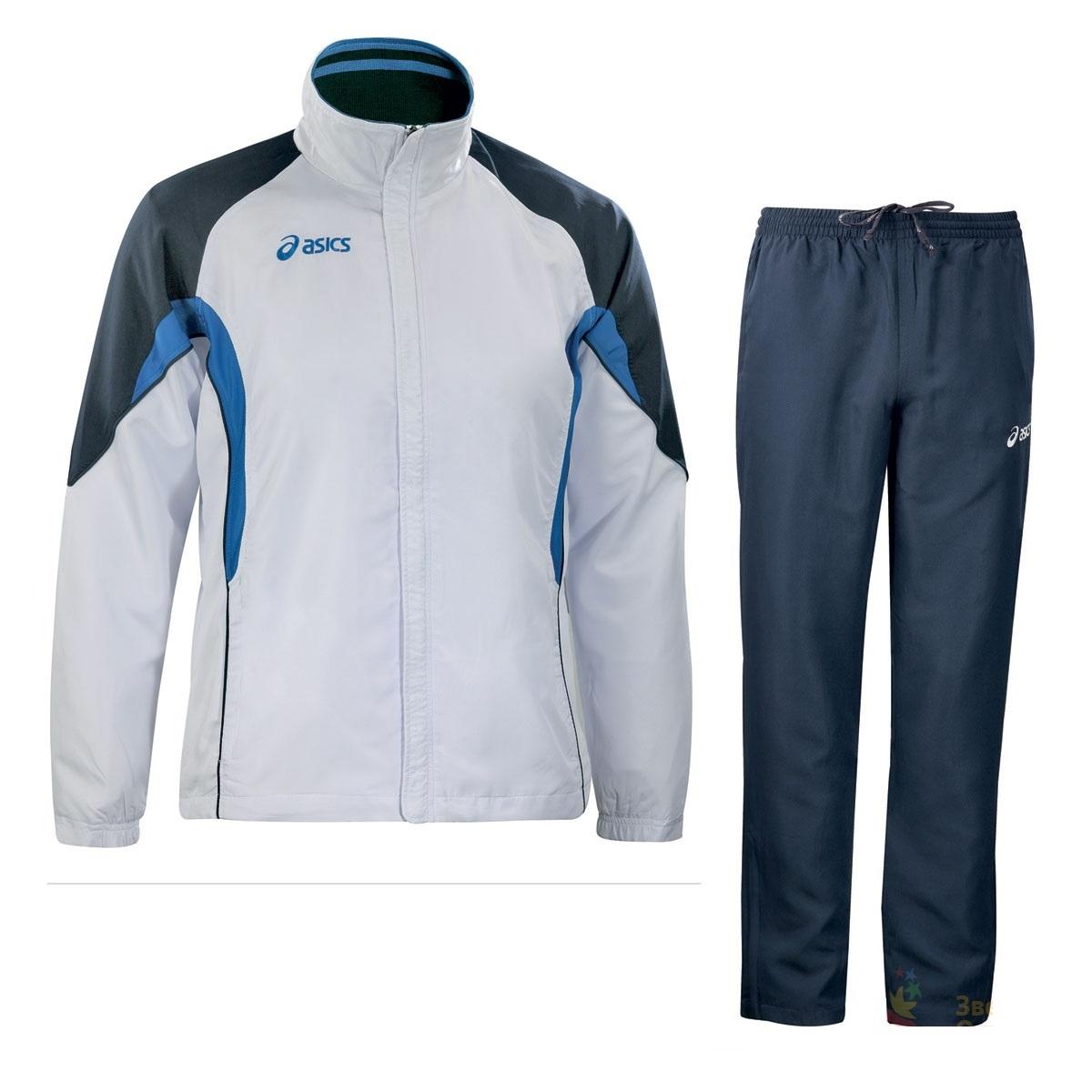 Мужской спортивный костюм ASICS SUIT EUROPE белый (T653Z5 0150) фото