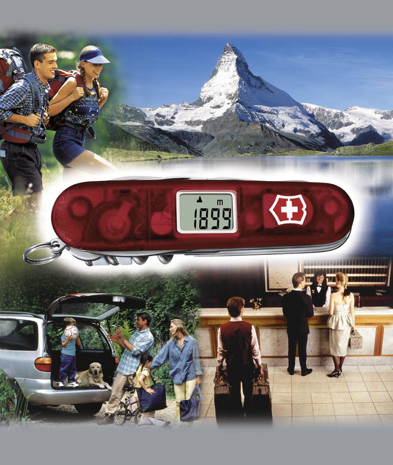 Швейцарский нож Victorinox Traveller полупрозрачный красный (1.3705.AVT)