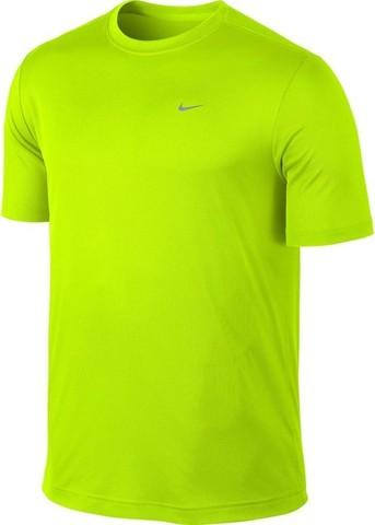 Футболка Nike Challenger SS Top салатовая