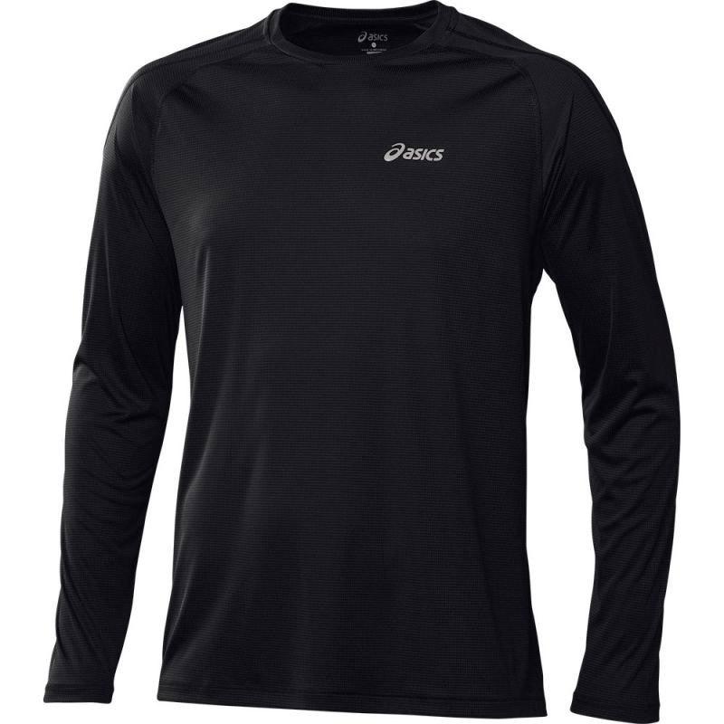 Мужская рубашка для бега Asics L/S Crew (114510 0904)