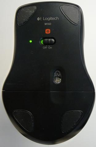 LOGITECH M560 Black [92881]