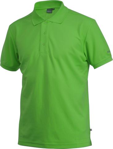 Футболка-поло мужская Craft Pique зелёная