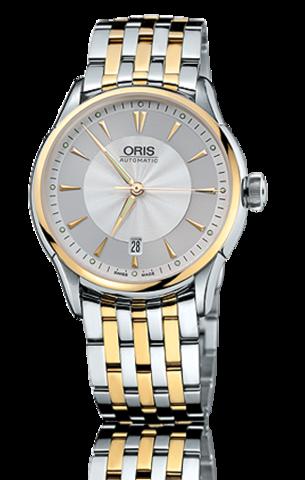 Купить Наручные часы Oris Artelier Date 01 733 7591 4351 по доступной цене