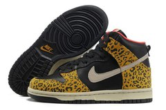Кеды женские Nike Dunk High Black Leo