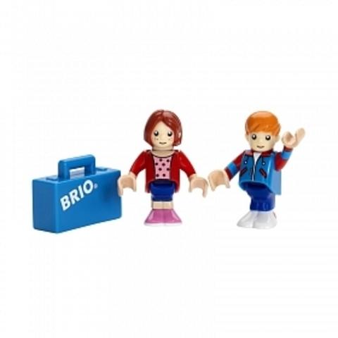 33309 BRIO Пассажиры с чемоданчиком