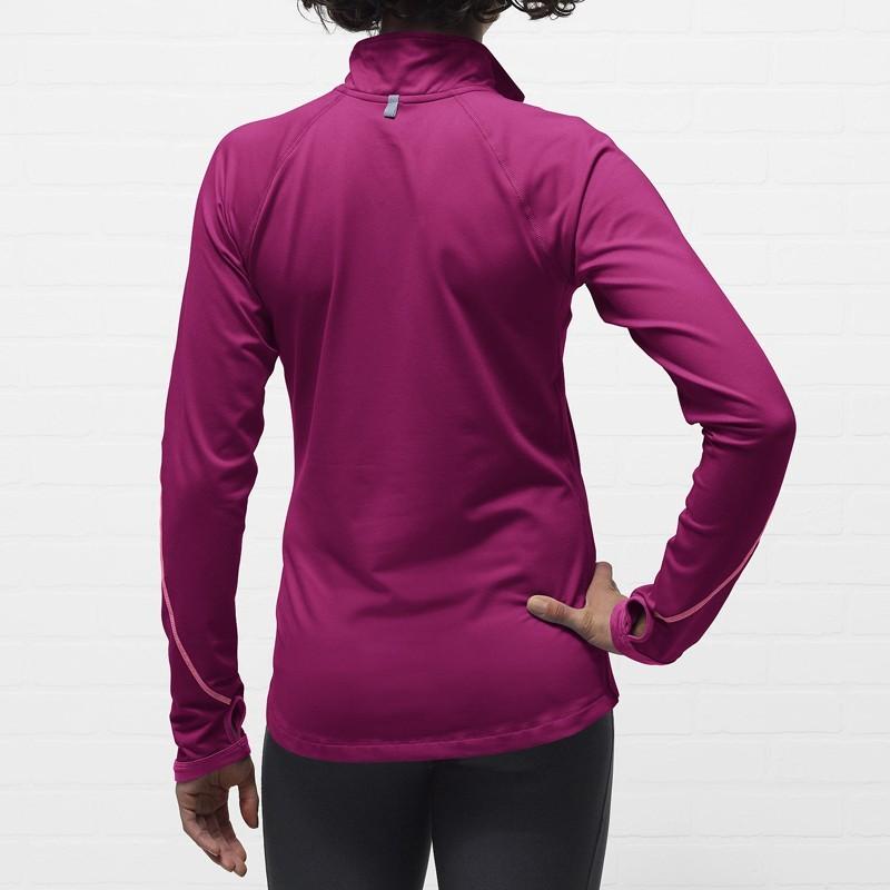 Футболка Nike Element 1/2 ZIP (W) /Рубашка беговая