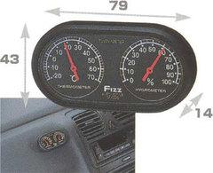 Термометр с гигрометром (стрелочные) FIZZ-746