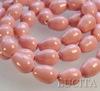 5821 Хрустальный жемчуг Сваровски Crystal Pink Coral грушевидный 11х8 мм