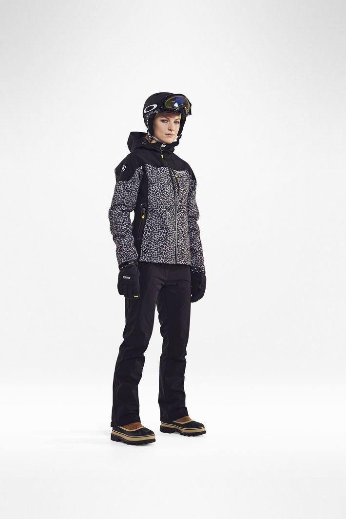 Женская куртка 8848 Altitude TEKSAS leopard (6780Н8) фото