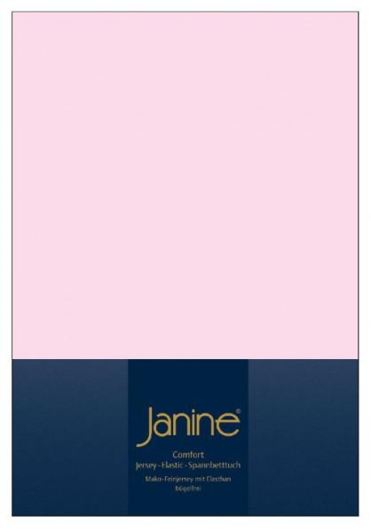 Элитная простыня на резинке Elastic-Jersey 5002 светло-розовая от Janine