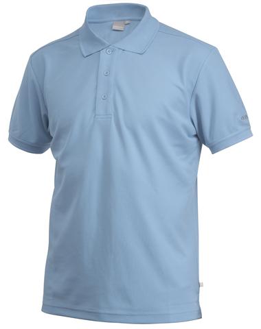Футболка-поло мужская Craft Pique голубая