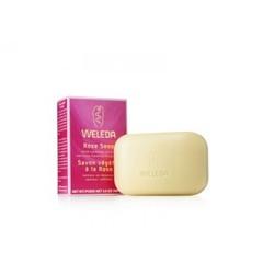 Растительное мыло, WELEDA, розовое, 100 гр