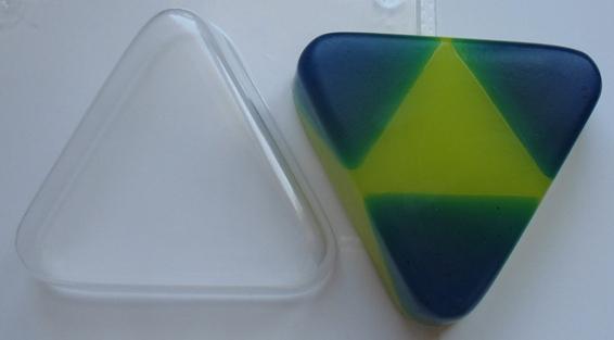Треугольник форма для мыла