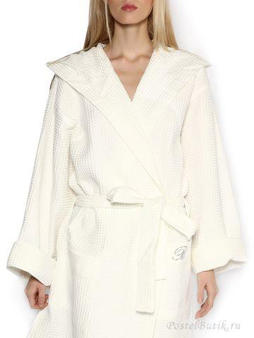 Элитный халат вафельный St. Tropez жемчужный от Blumarine