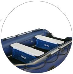 Накладка на сиденье со съемной сумкой-рундуком UBL-3507 (большая)