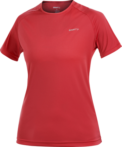 Футболка беговая женская Craft Active Run красная