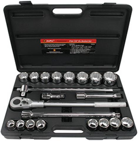 Набор инструмента AmPro (21 предмет) T45755