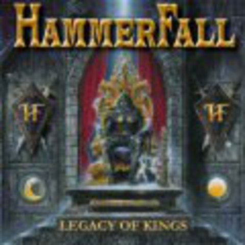HAMMER FALL   LEGACY OF KINGS +5 bonus tracks   1998