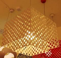 люстра  Antilia Table Lamp by Kazuyo Komoda белая