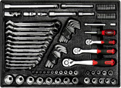 Набор инструмента в ложементе AmPro (94 предметов) T45996