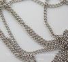 Цепь (цвет - античное серебро) 2х2 мм, примерно 5 м