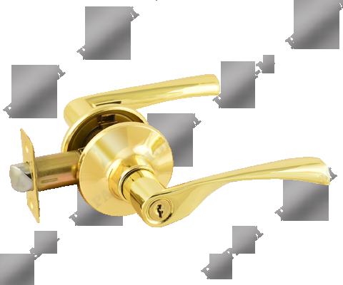 Фурнитура - Ручка Дверная  Nora-M ЗВ2-05, цвет золото