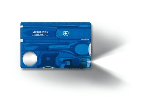 Швейцарская карта SwissCard Lite Blue Victorinox (0.7322.T2)