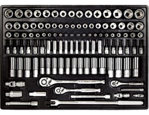 Набор инструмента в ложементе AmPro (108 предметов) T45535