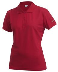Рубашка-поло женская Craft Pique красная