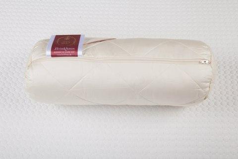 Элитная подушка-валик шерстяная стеганая Exquisit от Brinkhaus