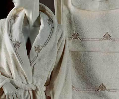 Элитный халат махровый Vesta от Lady Laura
