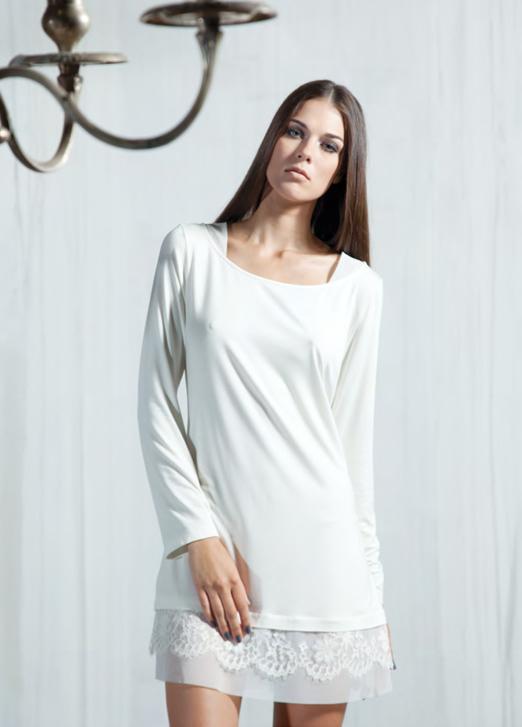 Домашнее платье с длинным рукавом Verdiani (Домашние платья и ночные сорочки)