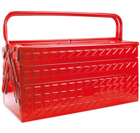 Ящик для инструмента AmPro (металлический, 5 отделений) Т47005