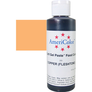Краска краситель гелевый COOPER (FLESHTONE) 205, 127 гр