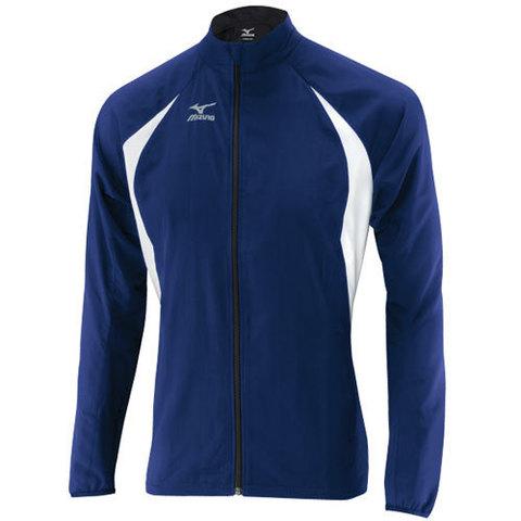 Ветровка Mizuno TR Men light weight jacket синяя