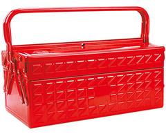 Ящик для инструмента AmPro (металлический, 3 отделения) T47004