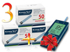 3 упаковки тест-полосок Клевер-Чек (Clever chek) 4227 № 50 и Глюкометр Клевер-Чек  (говорящий)