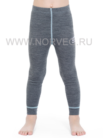 Терморейтузы из шерсти мериноса Norveg Soft Grey детские