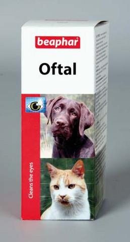 12547 Беафар Oftal Средство д/кошек и собак для ухода за глазами 50мл*3