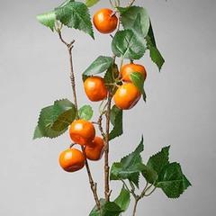 Ветка декор, апельсин ,75 см