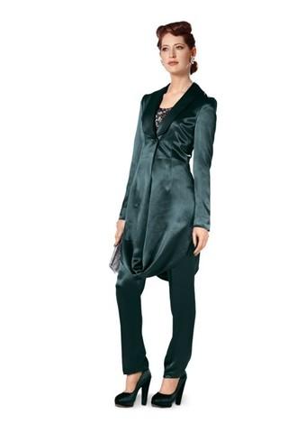 Выкройка Burda (Бурда) 7151 — Брючный костюм, ансамбль