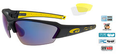 Спортивные очки goggle HAWK race black/yellow