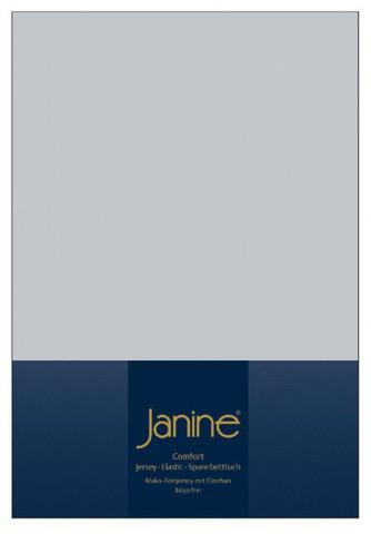 Элитная простыня на резинке Elastic-Jersey 5002 серебро от Janine