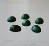 Кабошон овальный Малахит (искусств), 12х10х5 мм